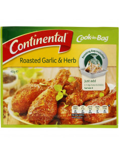 Continental Cook-in-bag...
