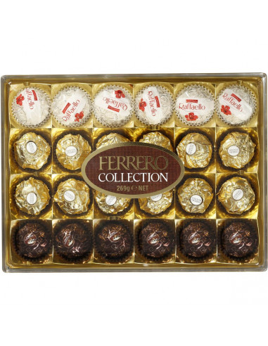 magasin en ligne 8b6c6 1d68d Ferrero Collection Chocolates Rocher Rondnoir Raffaello 24 pack