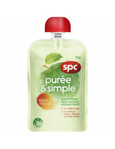 Spc Puree & Simple Apple &...
